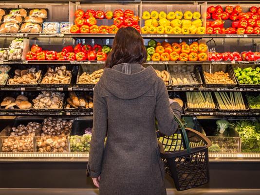Produce shopper and GMOs