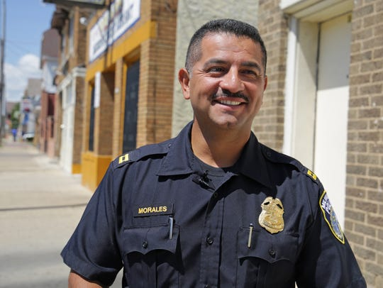 Alfonso Morales Jr. served as commander of District 2 on the city's near south side and now is assigned to the department's Project Safe Neighborhood High-Value Target program.