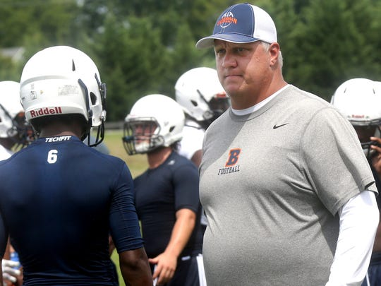 Blackman coach David Watson and his Blaze are favorites to win Region 3-6A this season.