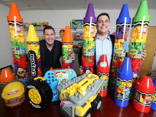 Joe and Michael Albarelli own Amloid Toys, a fourth generation family run toy company since it was started in 1916.