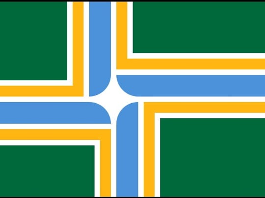 Portland, Oregon flag