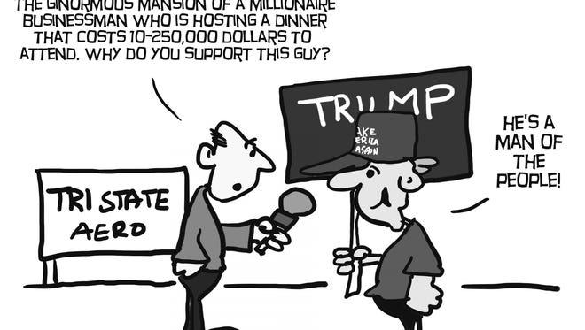 Cartoon: Man of the People