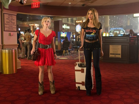"""Reese Witherspoon and Sofía Vergara star in """"Hot Pursuit."""""""