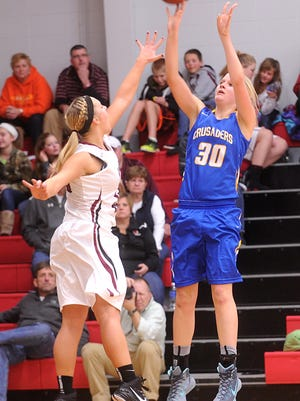 Central Wisconsin Christian's Makayla DeYoung