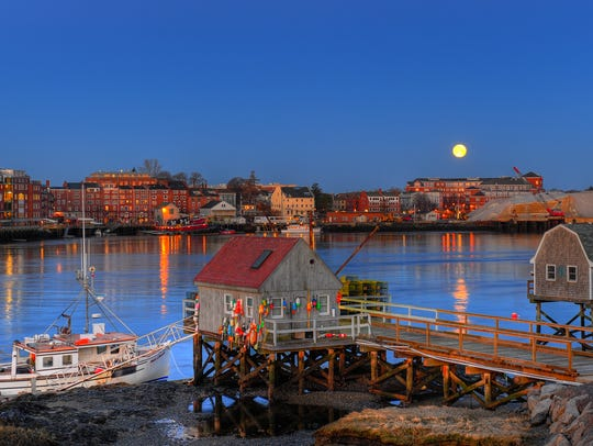 New Hampshire: Settled in 1623, Portsmouth, New Hampshire