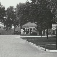 History Spotlight: Gas station, circa 1930