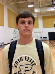 Mars junior guard Robby Camody attended the 2015 Purdue