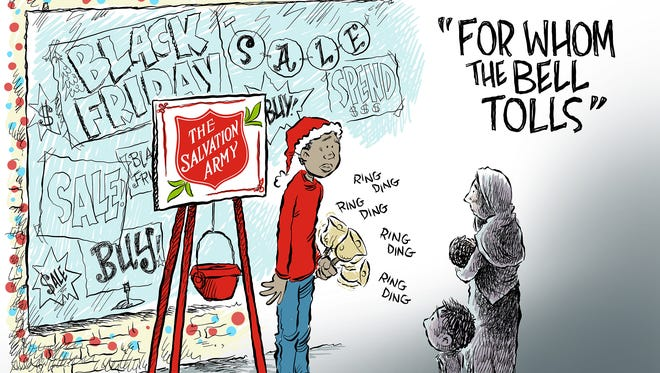 Black Friday and the hungry commentary from Andy Marlette