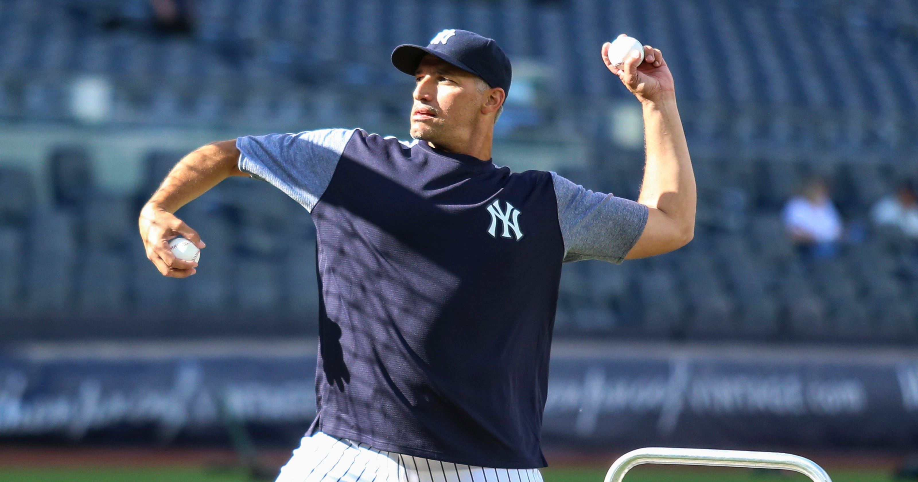 the latest 6a617 c43b6 Old Timers Pettitte, Swisher, Giambi join NY Yankees' youth ...