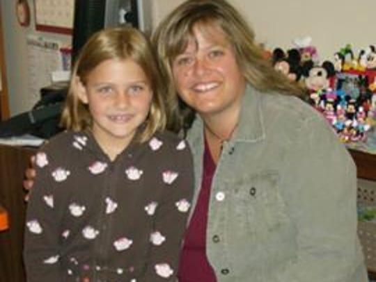 Second grader Danielle Snyder dreamed of traveling
