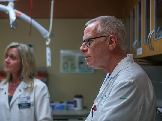Dr. Mark Cipolle, director of outcomes research for the surgical serviceline at Christiana Care, talks about the benefits of Wilmington Hospital having a Trauma III health center, it now has the ability to have a helicopter pad to fly patients from Wilmington to Stanton.
