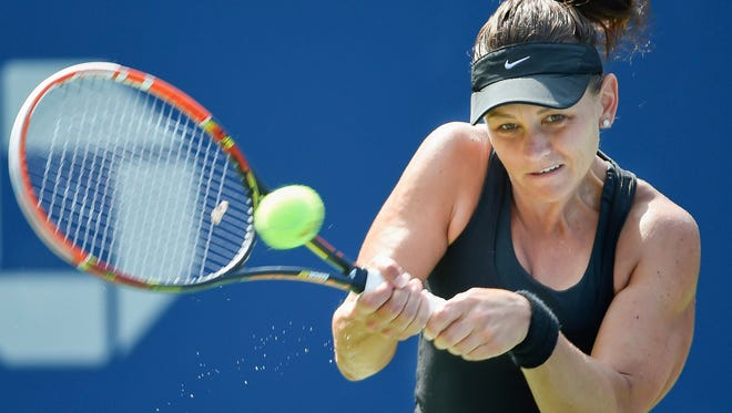 Casey Dellacqua is angry with tennis legend Margaret Court for Court's anti-gay comments.