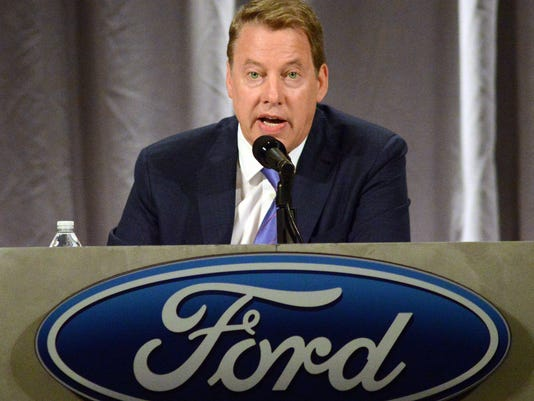 Ford Holds Annual Shareholders Meeting In Wilmington