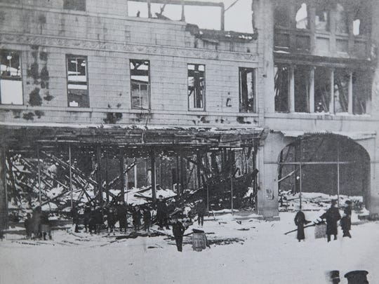 1905 Steinbach Fire  Asbury Park Press archive photos of Long Branch.