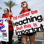 Arizona teachers continue push to tax rich for education