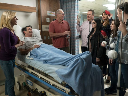 Hospitalization for Phil (Ty Burrell), in bed, leads