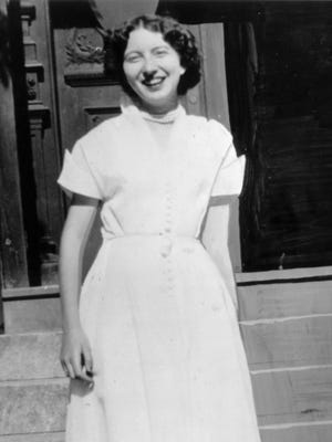 Dorothy Poore, 18-year-old from Clinton in Vermillion Co., whose body was found stuffed in a dresser drawer in room 665 of the Claypool Hotel on July 18, 1954.