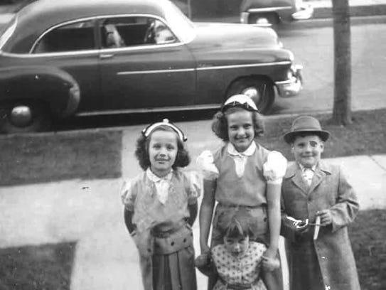 Evelyn and Douglas Aton raised their four children