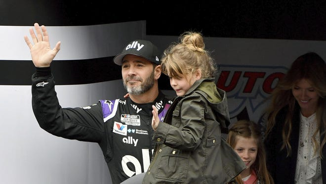 Seven-time NASCAR champion Jimmie Johnson is unclear how his final season of full-time racing will finish as racing takes a break during the COVID-19 outbreak.