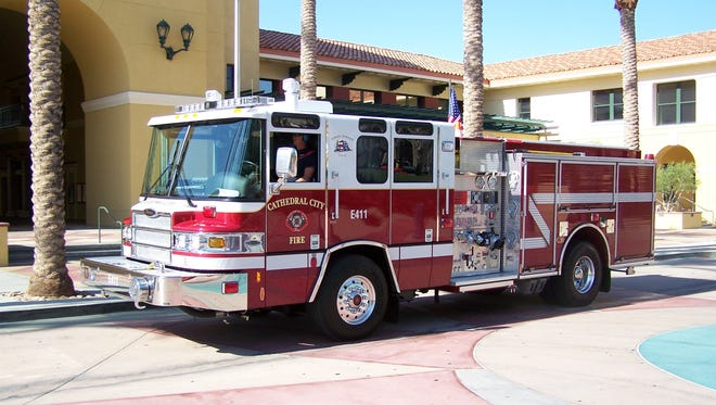The Cathedral City Fire Department.