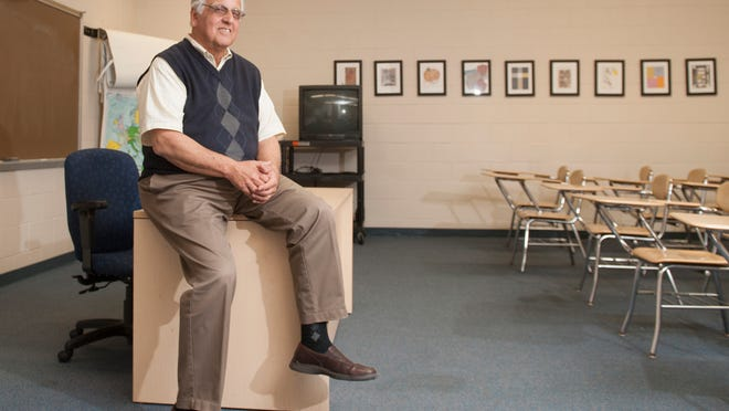 Psychology Professor Joe Manganello, a longtime Gloucester County College professor,  is retiring in May after 45 years with the college.  04.28.14