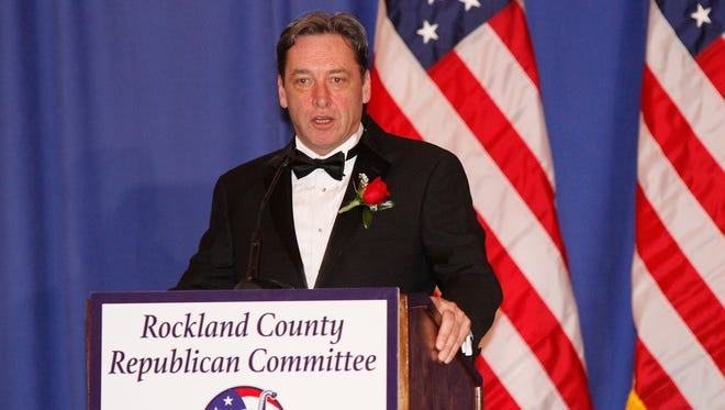 A file photo of Rockland County Republican Committee Chairman Lawrence Garvey from April 09, 2016.