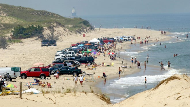 Parks officials issued more than 15,000 surf fishing permits last year, a 32 percent increase from three years earlier. Of those, 1,000 went – for free – to firefighters under 2012 legislation.