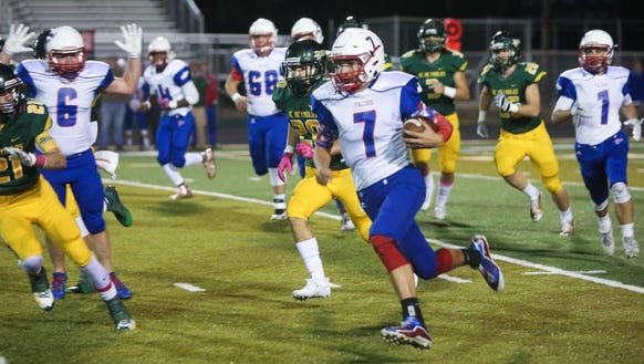 Scenes from Friday night's game between A.C. Reynolds
