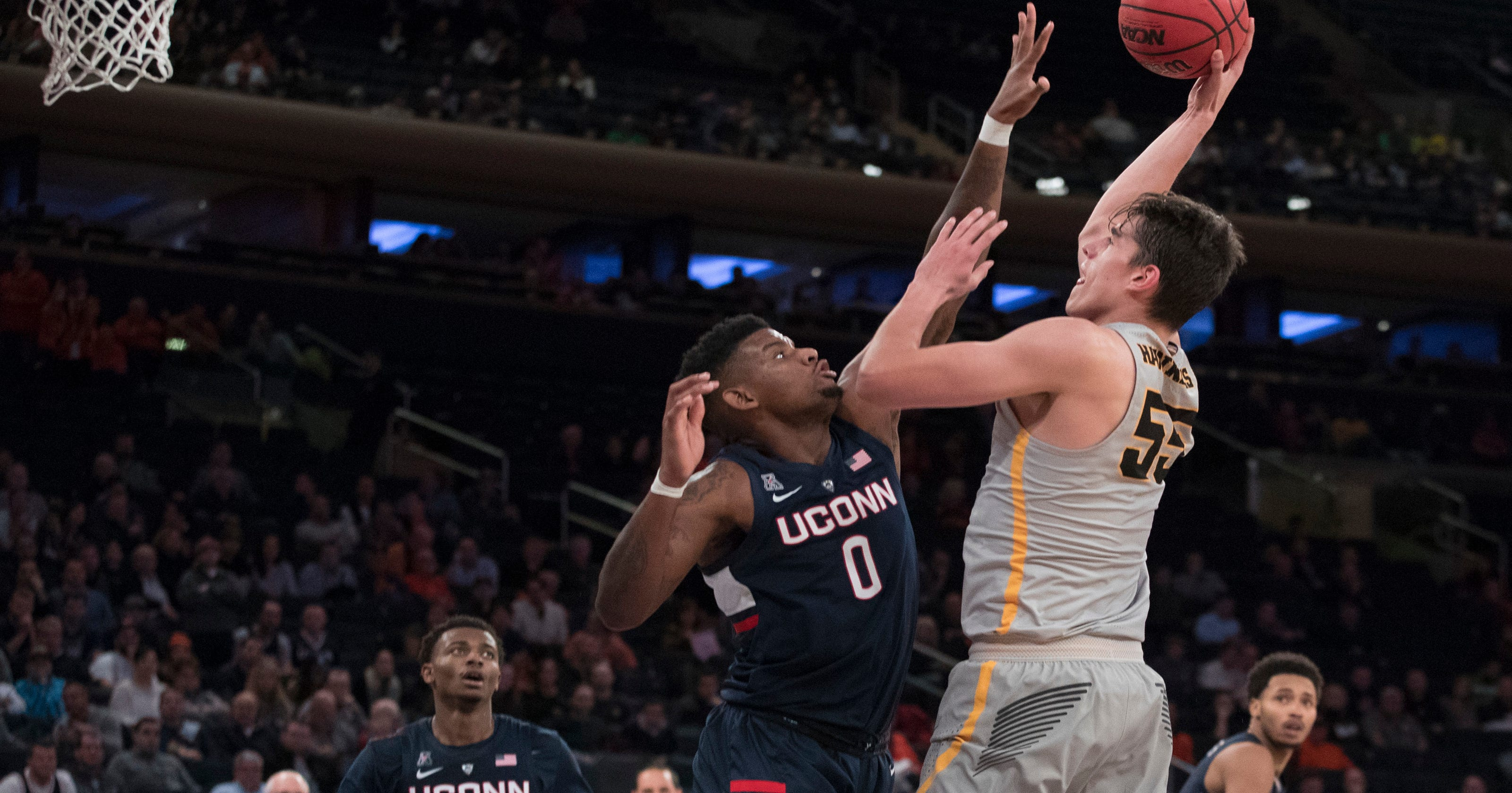 Image result for 2018 iowa connecticut basketball\