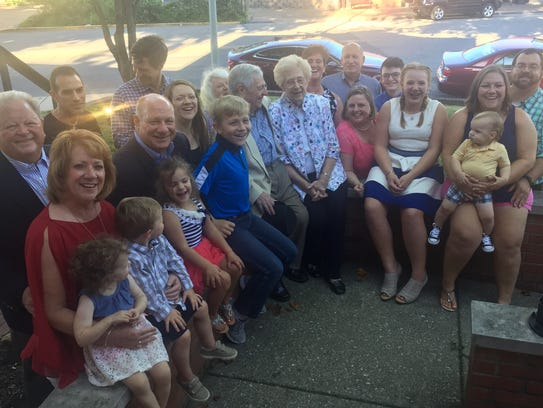65th anniversary Pat and Jim Whalen celebrated their