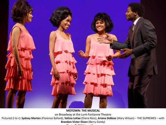 """""""Motown: The Musical"""" tracks the rise of The Supremes, among many other pop stars of the 1960s and '70s."""