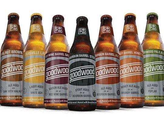 Goodwood will begin distributing beers to liquor stores Monday.