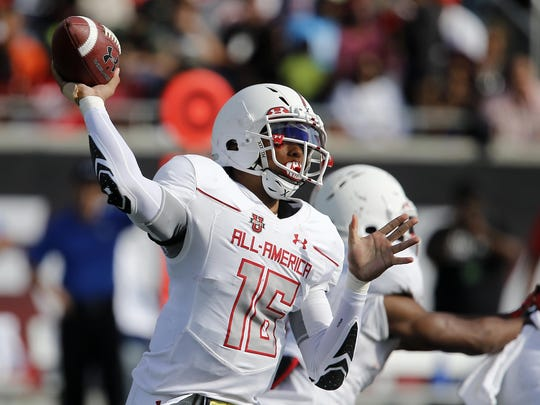 FSU quarterback commit Malik Henry enrolled into school this week, and says he does not have plans to redshirt as a true freshman.