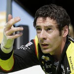 Simon Pagenaud overcomes injury to win pole at Lexington