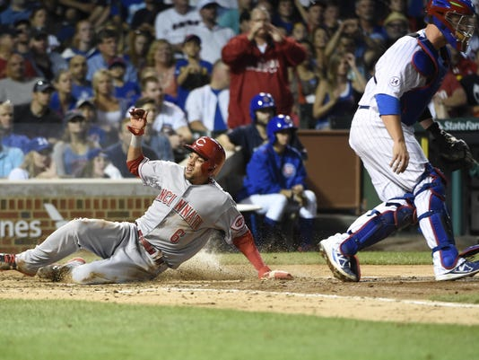 Billy Hamilton,David Ross