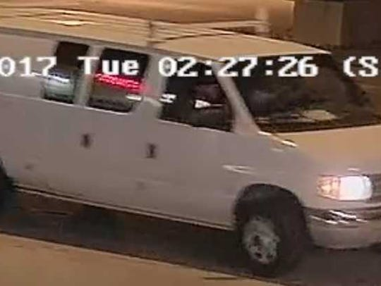 Milwaukee police are seeking this van in connection