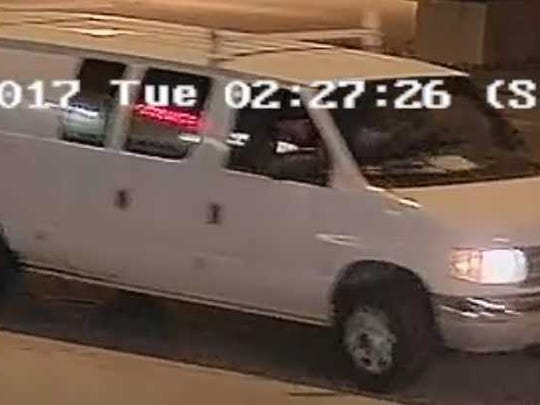 Milwaukee police are seeking this van in connection with an armed robbery shortly before 2:30 a.m., June 20 in the 100 block of E. National Ave.