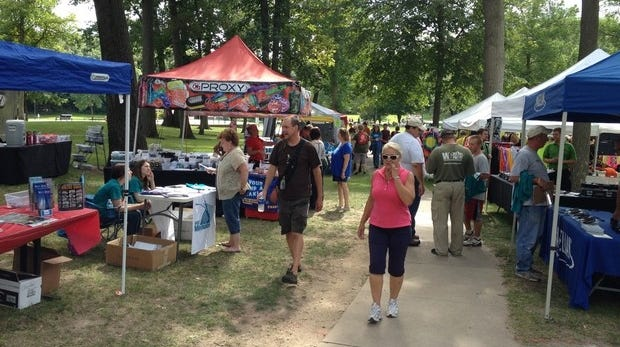 The sixth annual West Bend $1,000 Cache Ba$h was held on Saturday, August 10, 2013.
