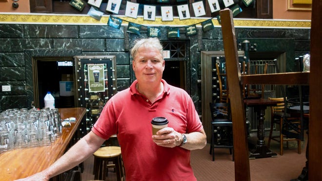 Agent/broker Bob Marchewka is poised to list the former site of Rí Rá Irish Pub & Restaurant for lease. He said although downtown Portsmouth will likely suffer due to coronavirus shutdowns, he is optimistic about the long-term outlook for the city.