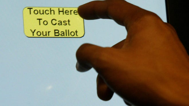 Certain touch-screen ballot-marking machines will remain in use in North Carolina this fall, a judge ruled in a case in which voters questioned the equipment's accuracy and health risks during the COVID-19 pandemic.