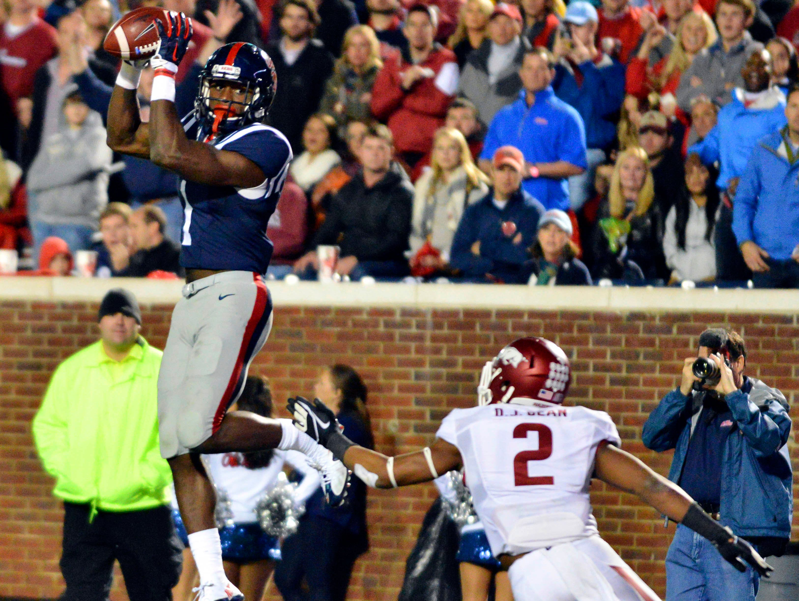 Ole Miss wide receiver Laquon Treadwell and the Rebels are bouncing back well from the team's loss last Saturday to Arkansas.