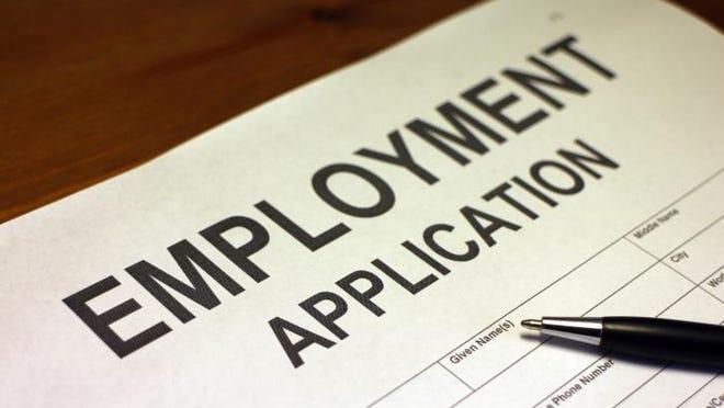 Employment application.