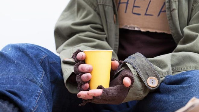 Fewer people were counted as homeless in New Jersey earlier this year.