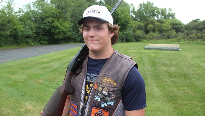 Jack Meixelsperger, 18, of Dousman took first place in trapshooting in the senior varsity division at the 2018 Scholastic Clay Target Program National Championship. Meixelsperger shot 200 straight targets in the first two rounds of the competition, and then won a four-man shoot-off for the title. The event drew 2,256 participants in various divisions; it was held July 15-21 in Marengo, Ohio.