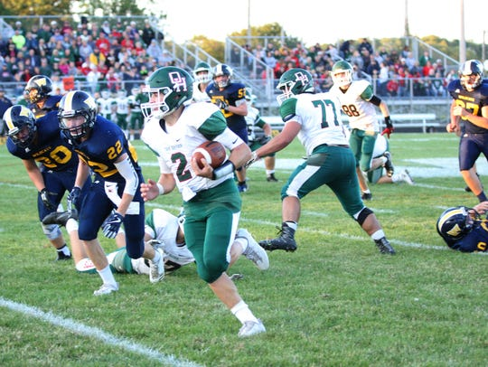 Jac Alexander wants to bring the Celestial Bowl Trophy home with Oak Harbor.