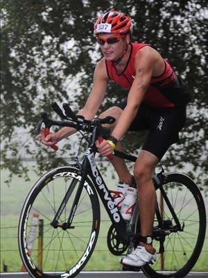 18-year-old Nolan Vogelsang of Gilbert is the youngest entrant in the Ironman Arizona triathlon on Sunday.