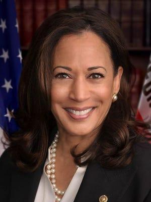 Official headshot of United States Senator Kamala Harris (D-CA).
