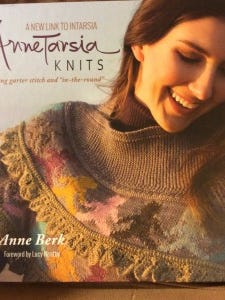 """AnneTarsia"" is a terrific new book by Anne Berk. If you love color knitting, you need it in your library."