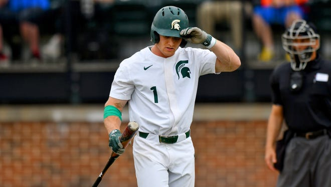 Danny Gleaves and Michigan State were eliminated from the Big Ten tournament on Thursday.