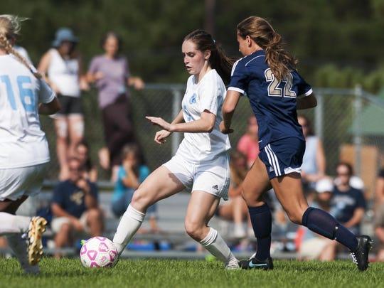 Essex vs. MMU Girls Soccer 09/19/15
